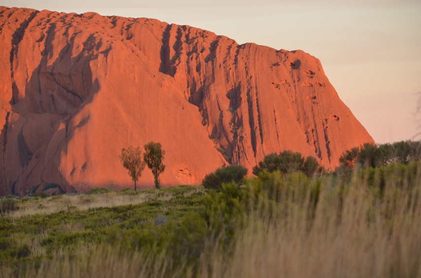Uluru-Dämmerung