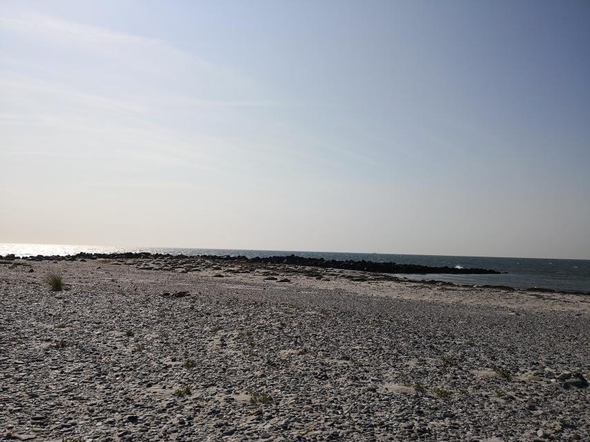 Die Nordseite der Düne (Helgoland)